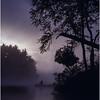 Adirondacks Forked Lake Morning Paddler 10 Bob Goot August 1981
