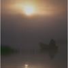 Adirondacks Forked Lake Morning Paddler 1 August 1979