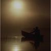 Adirondacks Forked Lake Morning Paddler 4 August 1979
