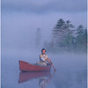 Adirondacks Classic Forked Lake Paddler in Blue Mist