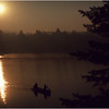 Adirondacks Forked Lake Morning Paddlers Campsite 40 August 1976
