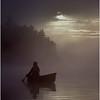 Adirondacks Forked Lake Morning Paddler 9 Bob Goot August 1981
