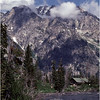 Grand Teton Park  WY Cascade Canyon Creek and Tetons 1 June 1980
