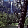 Yosemite CA Yosemite Falls Merced River 2 July 1980