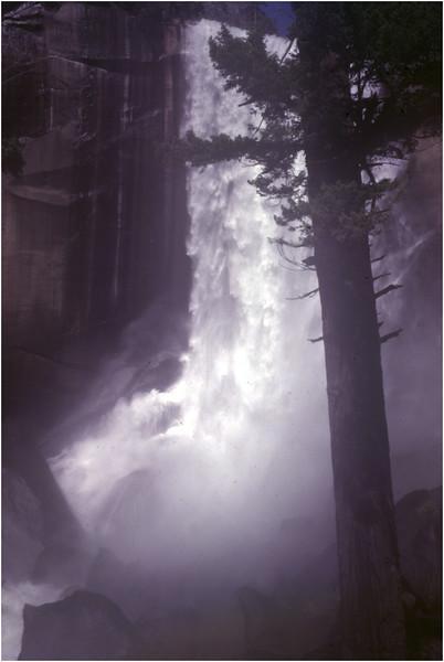 Yosemite Ca Vernal Falls 2 June 1980