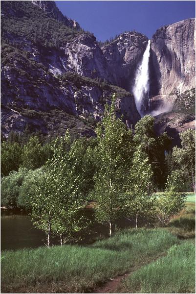 Yosemite CA Yosemite Falls 2 July 1980