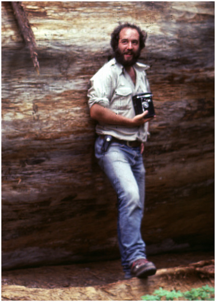 Sequoia NP CA Tom Bessette by G Womack June 1980