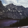 Glacier Park MT Lincoln Lake July 1980