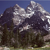 Grand Teton Park  WY Cascade Canyon Grand Teton 2 June 1980