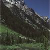 Grand Teton Park  WY Cascade Canyon Creek and Tetons 3  June 1980