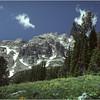 Grand Teton Park  WY Teewinot Mt 1 June 1980