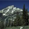 Grand Teton Park  WY Teewinot Mt 2 June 1980