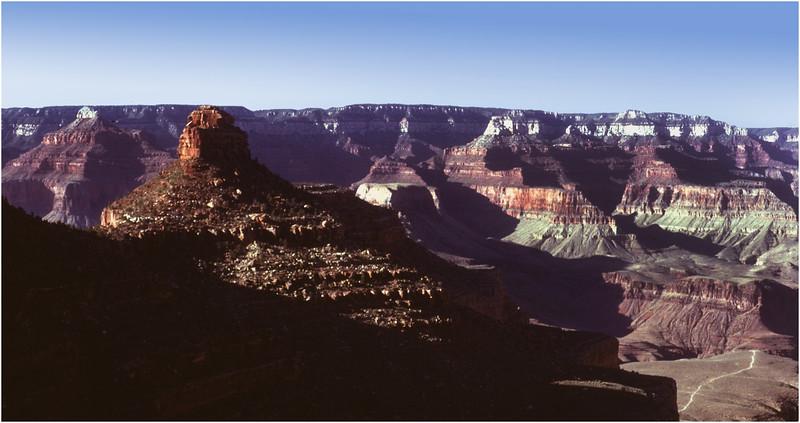 Grand Canyon AZ Bright Angel Point View 2 May 1980