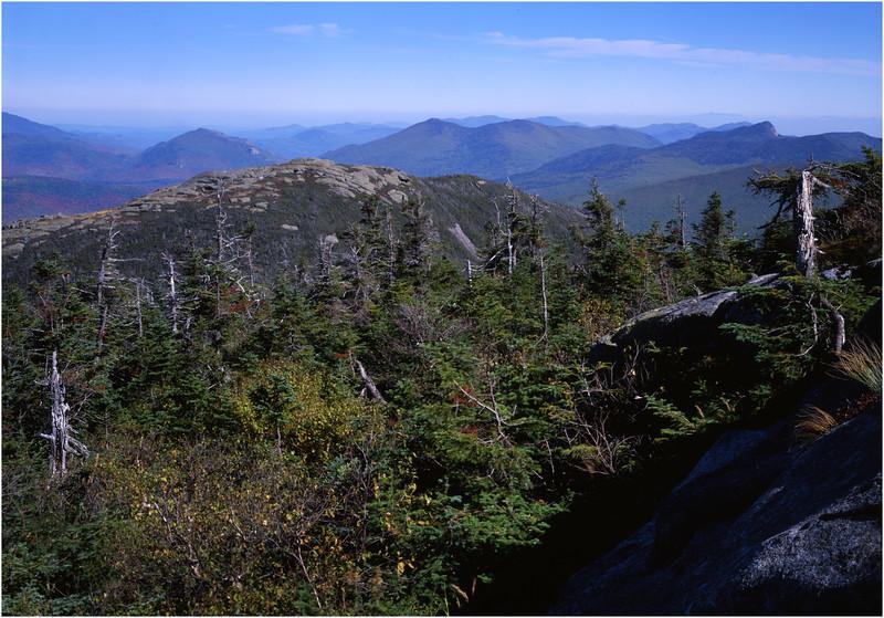 45 Adirondacks Algonquin Peak View North Wright Pk July 1995
