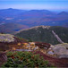45 Adirondacks Algonquin Peak View North Wright Pk and Whiteface Mt September 1997