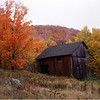 45 Adirondacks Blue Mt Lake Hillside Barn October 1997