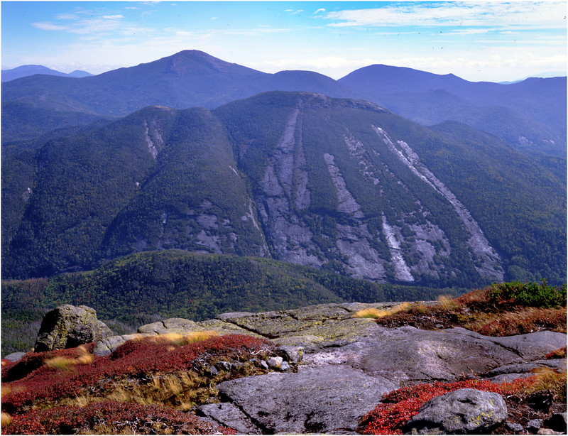 45 Adirondacks Algonquin Peak View East Colden and Marcy 1 September 1997