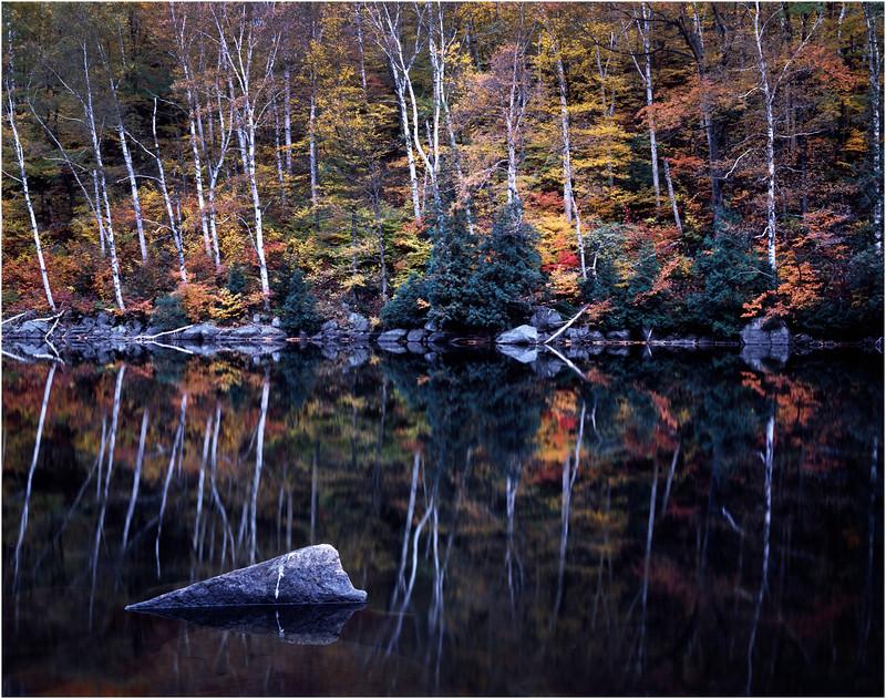 45 Adirondacks Chapel Pond Reflections September 1997