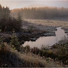 45 Adirondacks Beaver Meadow Brook Frost Morning 1 October 1998