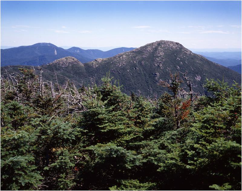 45 Adirondacks Mt Marcy View of Haystack Mt July 1995
