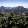45 Adirondacks Mt Marcy View of Haystack Mt July 1995