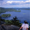 45 Adirondacks Lake Lila from Mt Fredricka Kim Bessette August 1997
