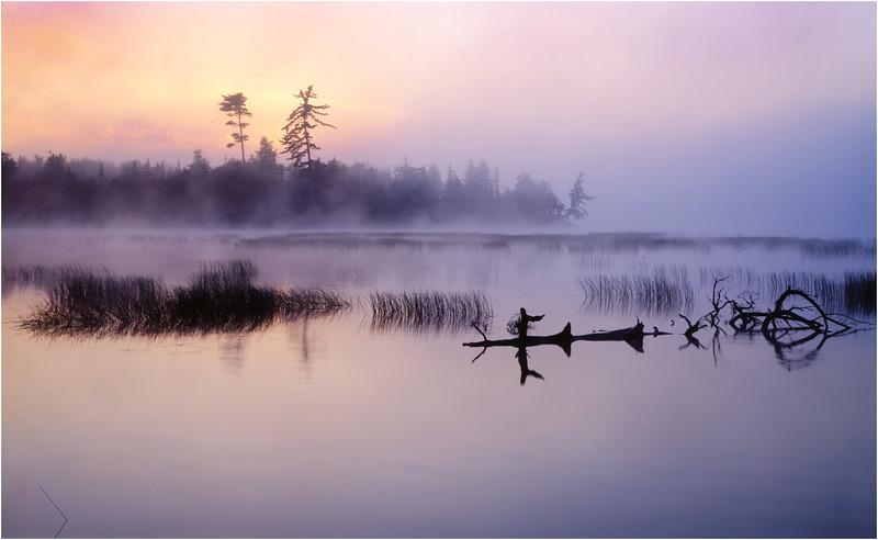45 Adirondacks Lake Lila Sunrise 3 August 1997