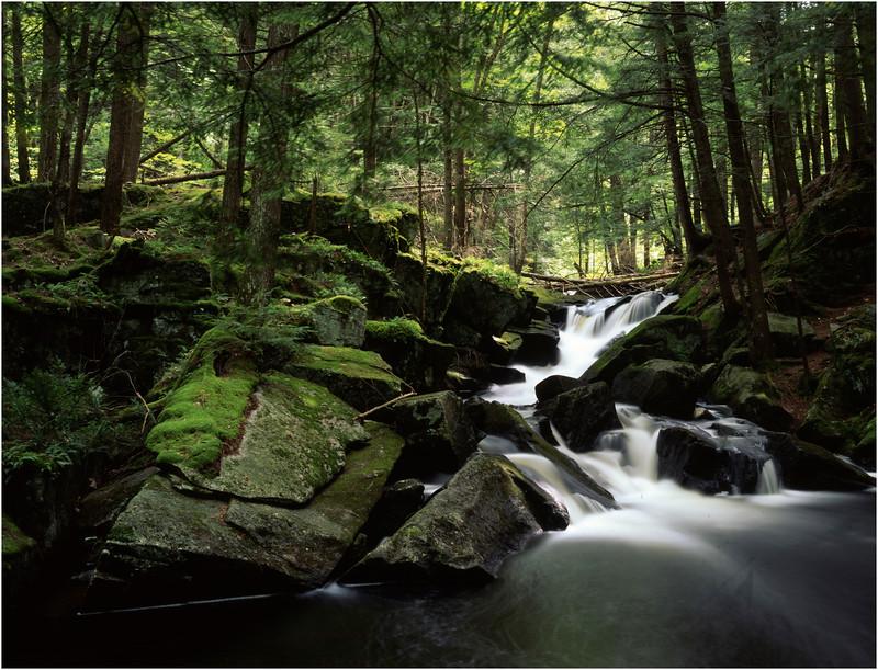 45 Adirondacks Crane Brook Falls August 1998