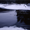 45 Adirondacks Long Lake Raquette River Half Frozen January 2001