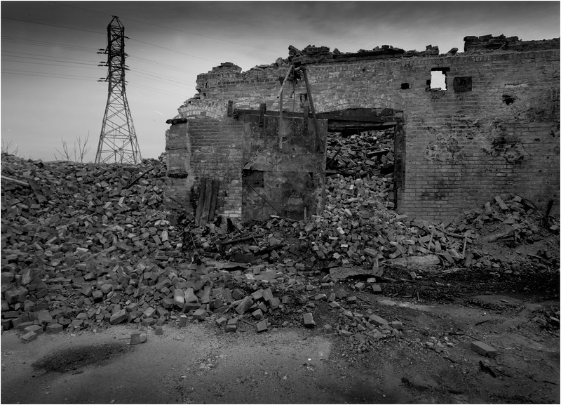 67 Cohoes NY Collapsed Factory 7 April 2004