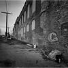 67 Cohoes NY Mill Scene  5 April 2004