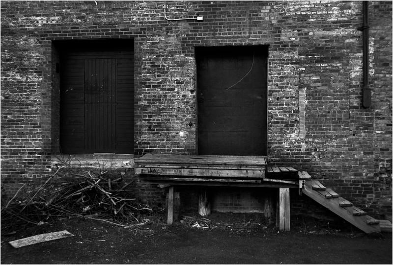 67 Cohoes NY Harmony Mill Loading Dock  May 2005