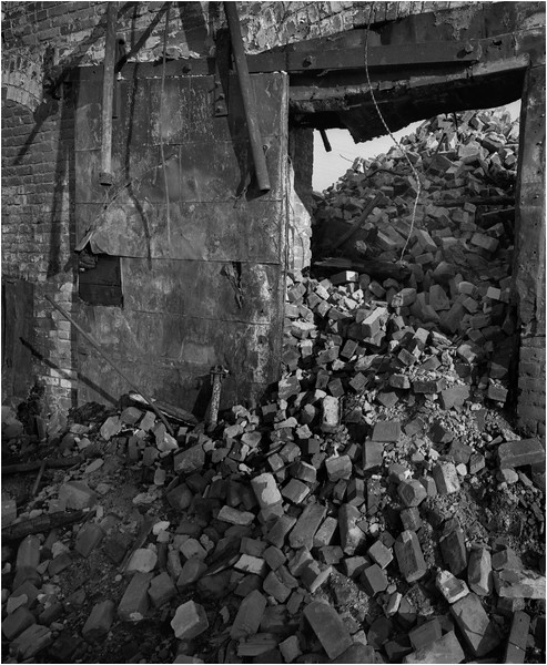 67 Cohoes NY Collapsed Factory 3 April 2004