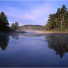 67 Adirondacks Lake Durant Morning Mist 6 August 2003