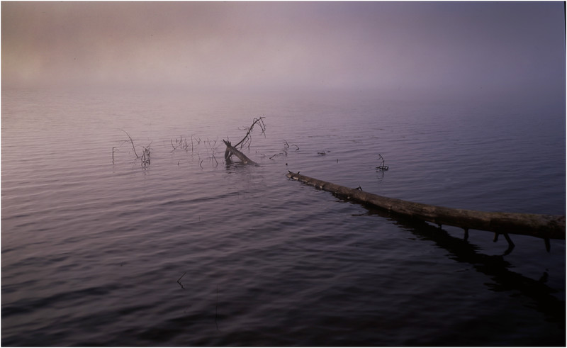 67 Adirondacks Lake Lila Morning Mist 2 August 2003