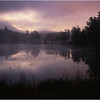 67 Adirondacks Lake Durant Morning Mist 1 August 2003
