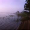 67 Adirondacks Lake Lila Morning Mist 5 August 2003