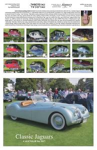 Classic Jaguars Calendar for 2017