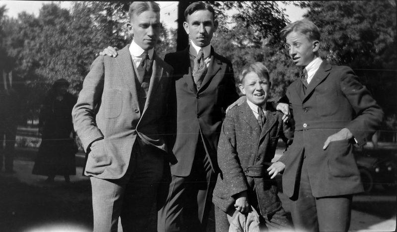 aaf Francis-Cortland-George-Rowland Stebbins about 1910-ish