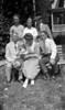 Bndl15#25a Arthur-boy-Anna B-Stowell-Rowland-George-Cortland Stebbbins on Roaring Brook bench 1927-ish