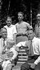 Bndl15#25 Arthur & Charles & George-Rowland-Stowell-Cortland Stebbbins on Roaring Brook bench 1921 in CRS Bk #2