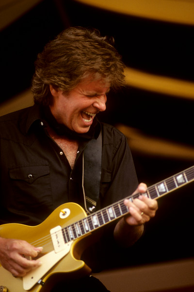 John Fogerty performs at the New Orleans Jazz & Heritage Festival on April 24, 1998.