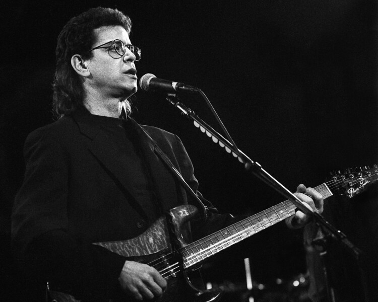 Lou Reed performing live at Zellerbach Auditorium in Berkeley, CA on July 15, 1988.
