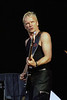 Sting performs at the New Orleans Jazz & Heritage Festival on April 30, 2000.