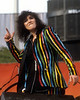 OAKLAND, CA-JULY 4: Ann Wilson performing with Heart at the Oakland Coliseum Stadium on July 4, 1981. (Photo by Clayton Call/Redferns)