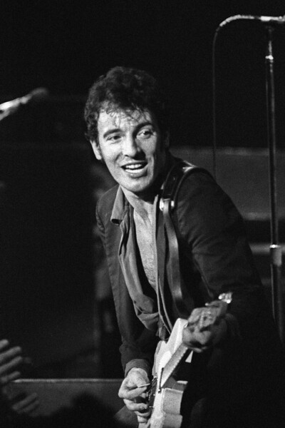 Bruce Springsteen & the E Street Band perform at Winterland in San Francisco 12-15-78.
