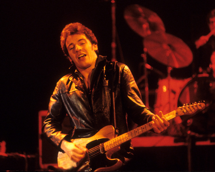 Bruce Springsteen and the E Street Band perform at Winterland in San Francisco on 12-15-78.