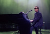 Billy Joel performs at the Oakland Coliseum on April 9, 1990.