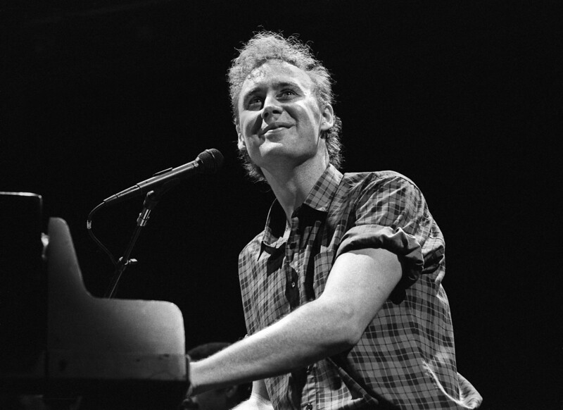 Bruce Hornsby performs at the Oakland Coliseum on December 7, 1986.
