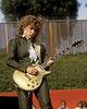 Nancy Wilson performing with Heart at the Oakland Stadium on Juy 4, 1981.